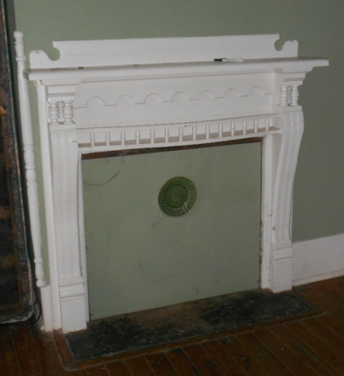 Original Fireplace Mantel Laughinghouse-Fawcett