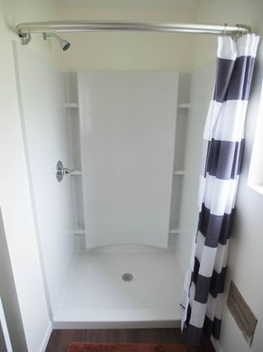 Bathroom Shower - First Tiny Home Model