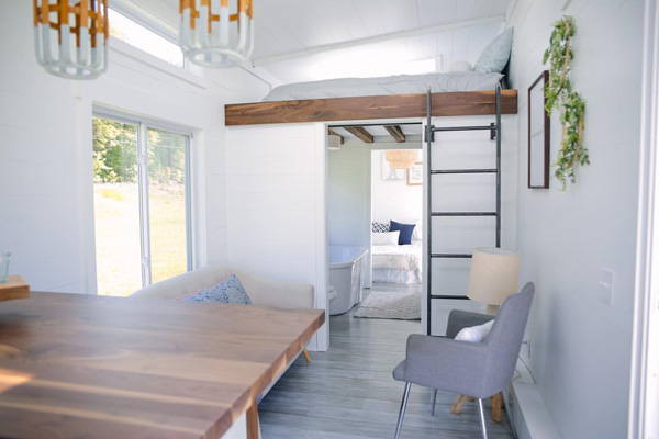 Tiny House Giveaway - Living & Loft
