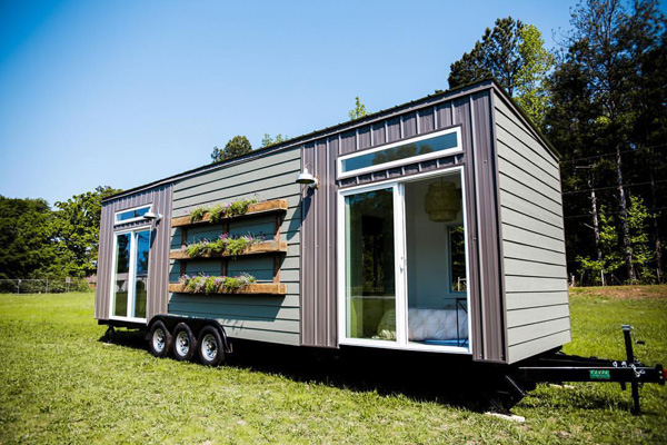 Tiny House Giveaway - Garden Wall